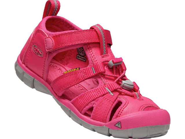 Keen Seacamp II CNX Sandals Youth Hot Pink